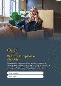 Onyx Legal Checklist